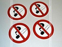 Таблички Не курить | Указатели таблички из пластика, плёнки, дерева | Изготовление табличек Курить запрещено | Заказать изготовление и купить информационные таблички
