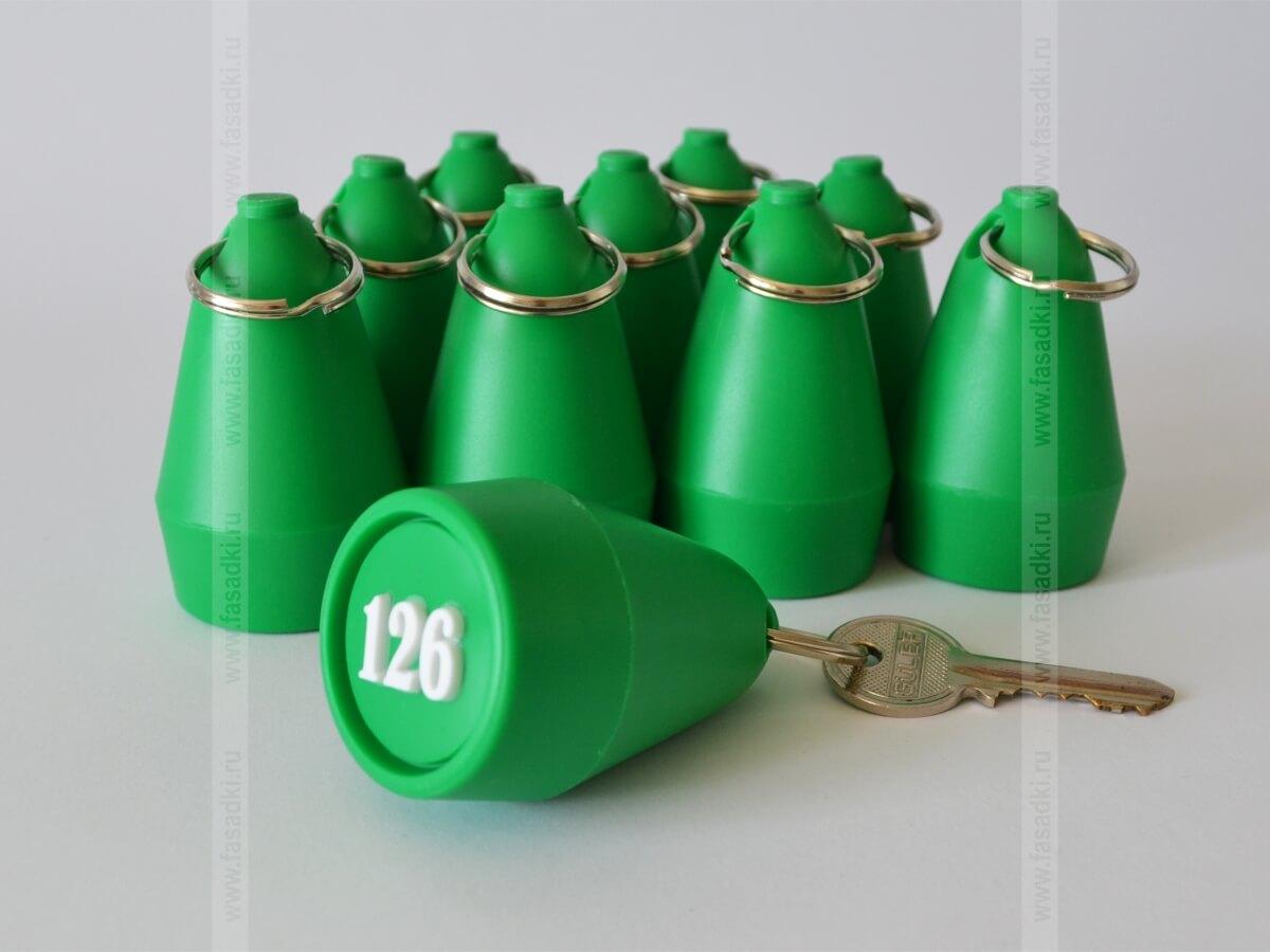 Брелок на ключи из пластика
